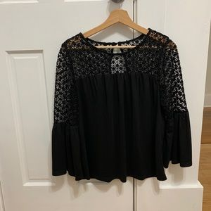 White House Black Market black blouse
